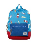 Herschel Supply Co Boy's Settlement Popsicle Backpack Blue Red - $116.99