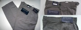 Mens Pants Pleated Chereskin   Light Gray  34 x 30  - $26.05