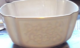 Lenox Cream Colored Gold Trimmed Small Bowl - $9.99