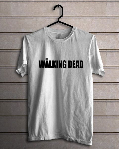 The Walking Dead Serial Movie TV T-Shirt  for Man Black Tee S-2XL Hot