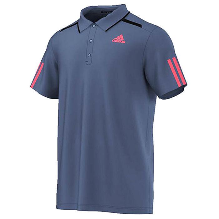Adidas 2016 men 39 s barricade polo tee shirts tennis for Adidas barricade polo shirt
