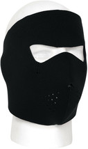 Black Neoprene Full Face Mask Cold Weather Waterproof Ski Snowboard Outdoor - $9.99