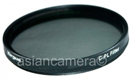 55mm CPL PL-CIR Filter For Sony A200 A300 55-200mm Lens Circular polarizer - $9.61