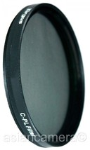 55mm CPL PL-CIR Filter For Sony A230 A300 18-70mm Lens Circular polarizer - $9.61
