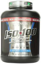 Dymatize ISO 100 Post Workout and Recovery Supplements, Gourmet Vanilla,... - $782.49