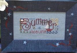 Summer Is Waving Easy To Stitch Kit cross stitch Shepherd's Bush - $12.00