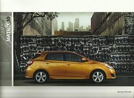 2010 Toyota MATRIX sales brochure catalog 10 US S XRS - $7.00