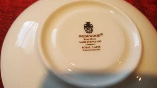 Wedgwood Royal Lapis Cup and Saucer