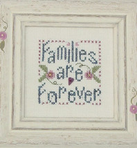 Families Are Forever Easy To Stitch Kit cross stitch Shepherd's Bush - $12.00