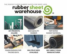 "Neoprene Rubber Sheet, Rolls, Strips 1/16"" .062"" Thick x 18"" Wide x 36"" Long Sol image 5"