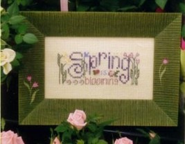 Blooming Spring Easy To Stitch Kit cross stitch Shepherd's Bush - $12.00