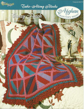 Needlecraft Shop Crochet Pattern 952170 Crazy Patch Afghan Collectors Se... - $4.99