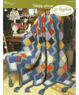 Needlecraft Shop Crochet Pattern 952170 Scrap Ripple Afghan Collectors S... - $4.99