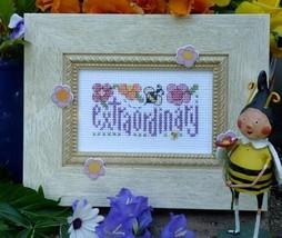 Bee Extraordinary Easy To Stitch Kit cross stitch Shepherd's Bush - $16.00