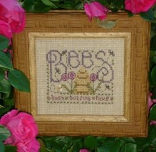 Bees Easy To Stitch Kit cross stitch Shepherd's Bush - $12.00