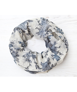 Floral Scarf Gifts for Women Infinity Scarf Beautiful Scarf Mom Gift - $18.90 CAD