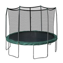 Trampoline 12' Enclosure Kid Children Safe Fun Net Safety Backyard Exer... - $387.99