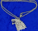 Wolf head necklace back thumb155 crop