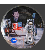 Bradford Exchange  Apollo 11 commemorative 25th anniversary plate - $34.99