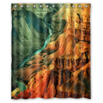 Grand Canyon #02 Shower Curtain Waterproof Made From Polyester - $29.07+
