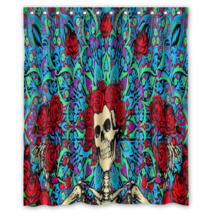 Grateful Dead #02 Shower Curtain Waterproof Made From Polyester - $29.07+