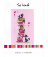 Tea Break cross stitch chart Camille Colje-Camps - $10.00