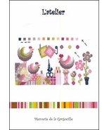 L'Atelier cross stitch chart Camille Colje-Camps - $10.00