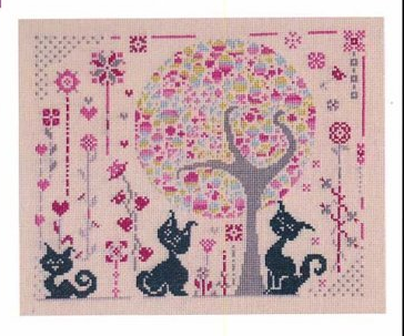 Variations cross stitch chart Camille Colje-Camps