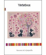 Variations cross stitch chart Camille Colje-Camps - $10.00