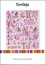 Florilege cross stitch chart Camille Colje-Camps - €8,71 EUR