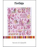 Florilege cross stitch chart Camille Colje-Camps - $10.00