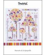 Prairial cross stitch chart Camille Colje-Camps - $10.00