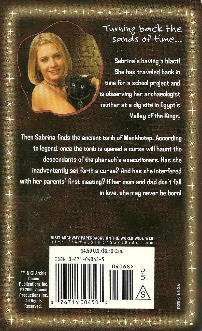 Sabrina The Teenage Witch Mummy Dearest No. 31 Mel Odom Softcover Book