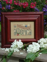 America Easy To Stitch Kit cross stitch Shepherd's Bush - $12.00