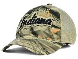 Indiana Hoosiers NCAA Legacy Realtree® Lost Camo™ Team Logo Adjustable Cap Hat - $16.14