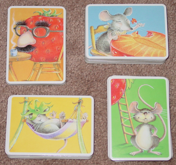 LITTLE MOUSE SEQUENCING GAME 1998 CHILDS PLAY COMPLETE EXCELLENT