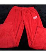 SIDELINE Mens Fleece Lounge Pants RED WING LOGO 2XL XXL Licensed Fanwear... - $34.17