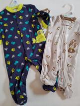 Child of Mine by Carter's Sleep Wear One Piece  Set Size NB 0/3 3/6 NWT - $5.84