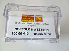 Micro-Trains # 10000410 Norfolk & Western 36' Riveted Steel Caboose N-Scale image 3
