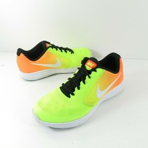 Nike Revolution 3 Womens Size 7 Yellow Chartreuse Orange Running Shoes - $31.49