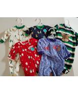 Child of Mine by Carter's  Fleece Sleep Wear One Piece  Set Size NB 0/3 ... - $10.39