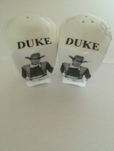 DUKE Salt&Pepper Shakers - $3.06