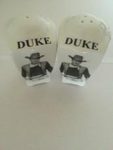 DUKE Salt&Pepper Shakers - $3.10