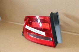 09-12 Audi A4 S4 RS4 4door Sedan Taillight Tail Light Lamp Driver Left LH image 3