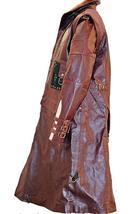 Mens Yondu Guardians of Galaxy Vol 2 Michael Rooker Brown Costume Coat image 3