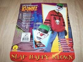 Teen Size Rubies Slap Happy Klown Gangster Clown Halloween Costume with ... - $32.00