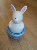Spring Time Easter Bunny Egg Salt & Pepper Shakers New - $14.00