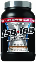Dymatize ISO 100 Post Workout and Recovery Supplements, Gourmet Chocolat... - $301.99