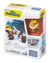 Mega Bloks Minions Snowball Fight - $5.87
