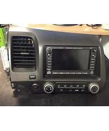 06 07 08 09 HONDA CIVIC RADIO CD XM NAVIGATION PLAYER #39541-SVA-A020-M1... - $282.15
